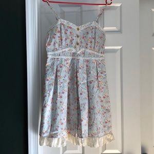 Dresses & Skirts - Japanese Kawaii Lolita Floral Dress BNWT Size S